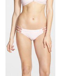 Rip Curl | White 'freedom' Bikini Bottoms | Lyst