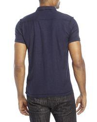 DIESEL | Blue Adelita Polo Shirt for Men | Lyst