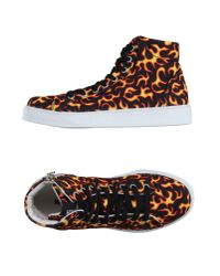 Love Moschino - Black High-tops & Trainers for Men - Lyst