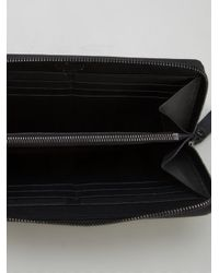 Valentino Black Rockstud Continental Wallet