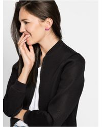 BaubleBar - Metallic Arc Ear Jackets-hematite - Lyst