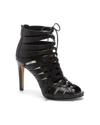 Vince Camuto | Black Narrital - Strappy Lace Up Gladiator Heel | Lyst