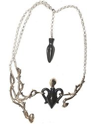 Bernard Delettrez | Metallic Silver And Bronze Amphora Necklace | Lyst