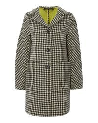 Max Mara | Gray Elvira Check Virgin Wool Coat | Lyst