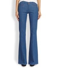 M.i.h Jeans - Blue Marrakesh Flared Jeans - Lyst