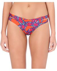 Lazul | Blue Nory Bikini Bottoms, Women's, Size: M, Snake | Lyst