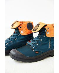 Alpha Industries - Blue Baggy Hi Zip Boot for Men - Lyst