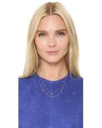 Tai - Blue Starburst Layered Necklace - Lyst