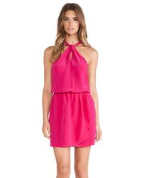 Rory Beca Pink Yves Knot Dress