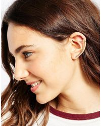 ASOS Metallic Sleek Bar Ear Cuff