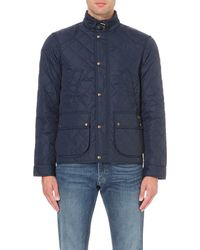 Ralph Lauren | Blue Cadwell Quilted Bomber Jacket for Men | Lyst