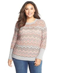 NIC+ZOE - Pink Colorburst Top - Lyst