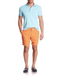 Polo Ralph Lauren   Blue Featherweight Cotton Polo Shirt for Men   Lyst