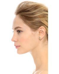 Rebecca Minkoff - Metallic Safari Haze Ear Tusk - Gold/crystal - Lyst