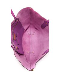Annabel Ingall - Purple Small Isabella Tote - Honey - Lyst