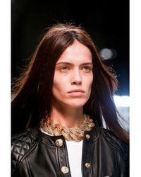 Balmain Metallic Gold Plated Chain Necklace
