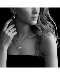 David Yurman - Metallic Noblesse Drop Earrings with Hematine and Diamonds - Lyst