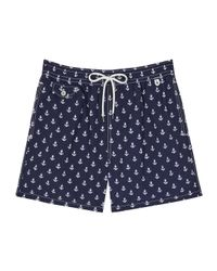 Polo Ralph Lauren | Blue Boats Swim Shorts for Men | Lyst
