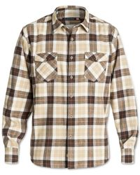 Quiksilver | Brown Waterman Wade Creek Plaid Flannel Shirt for Men | Lyst