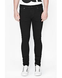 French Connection - Black Skin Tight Jeans for Men - Lyst