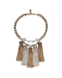 Lulu Frost | Metallic Metronome Necklace | Lyst