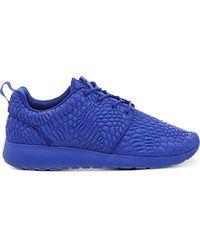 Nike Blue Roshe Run Diamondback Trainers