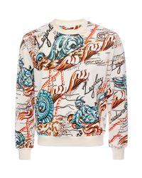 Alexander McQueen   Multicolor Legendary Creature Printed Sweatshirt for Men   Lyst