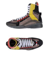 DSquared² | Gray High-tops & Trainers for Men | Lyst