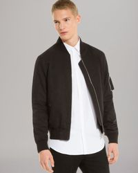 Sandro Blackmoon Bomber Jacket for men