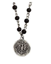 H&M | Black Necklace With A Pendant for Men | Lyst