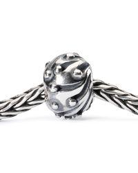 Trollbeads - Metallic Snowballs Silver Bead - Lyst