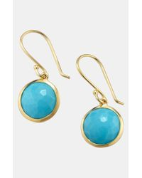 Ippolita | Yellow 'rock Candy - Mini Lollipop' 18k Gold Drop Earrings | Lyst