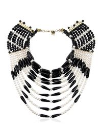 Rosantica - Black Selvaggia Necklace - Lyst