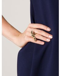Jennifer Fisher - Metallic Ribbon Ring - Lyst