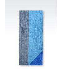 Armani Jeans | Blue Scarf | Lyst