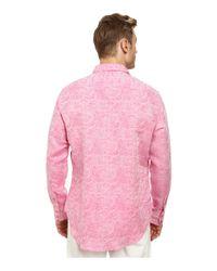 Robert Graham | Pink Chiefdom Long Sleeve Woven Shirt for Men | Lyst