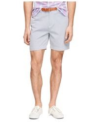 Brooks Brothers | Blue Bedford Cord Stripe Shorts for Men | Lyst