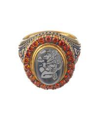 Queensbee | Metallic Hanuman Ring | Lyst