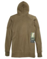 LRG - Green Elevated Vision Hoodie for Men - Lyst