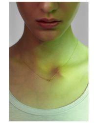 Saskia Diez | Metallic Ultrafine Necklace | Lyst