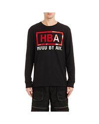 Hood By Air Black Men's Rage Long-sleeve T-shirt for men
