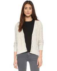 Line | Gray Lawrence Cardigan | Lyst