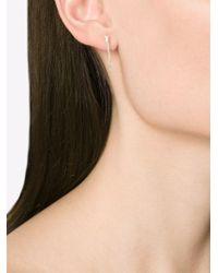 Pearls Before Swine - Metallic Forged Thorn Earrings - Lyst