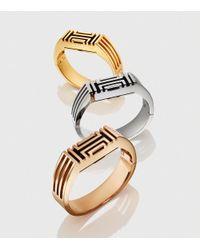 Tory Burch - Metallic For Fitbit Metal Hinged Bracelet - Lyst