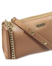 Pinko | Brown Clutch | Lyst