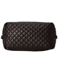 Steve Madden - Black Bvoyagee Quilted Large Satchel - Lyst
