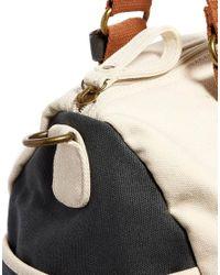 ASOS - Black Holdall in Block Color for Men - Lyst