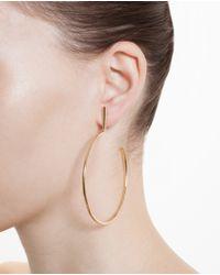 Chloé - Metallic Hoop Earring - Lyst