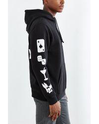 Stussy - Black Paid Rat Hoodie Sweatshirt for Men - Lyst