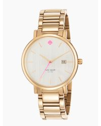 kate spade new york | Metallic Gramercy Grand | Lyst